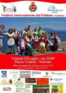 A Sorrento il Festival del Folklore