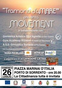 A Marina Piccola ginnastica a ritmo di dance latina
