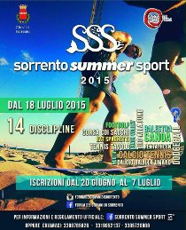 Al via la Sorrento Summer Sport