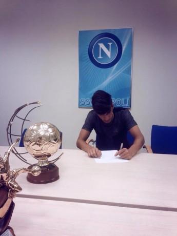 Nello Ferraro, dal Sorrento al Napoli: stamane la firma del contratto