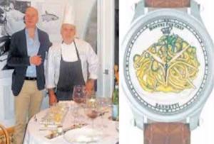 Un orologio dedicato agli spaghetti alla Nerano