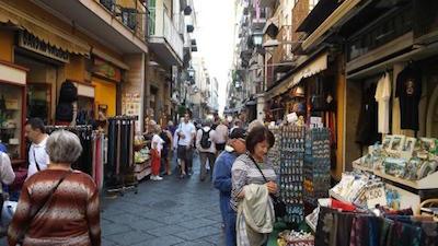 Blackout nel centro storico di Sorrento
