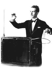 Il primo modello di Theremin