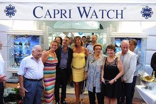 Grande festa per i primi vent'anni di Capri Watch