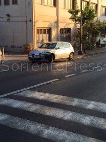 Incidente a via degli Aranci, traffico in tilt