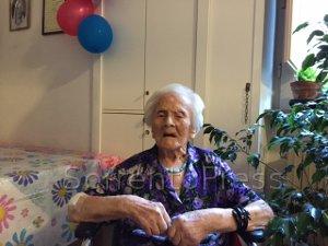 Festa tra Sorrento e Castellammare per i 103 anni di Maria Grazia Bruno