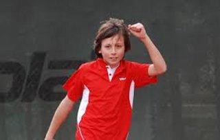Riccardo Perin vince l'oro nel doppio alle Olimpiadi Giovanili