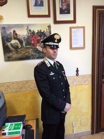 Fiocco azzurro alla compagnia carabinieri di Sorrento