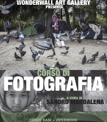 Parte il corso di fotografia di Sandro Maddalena