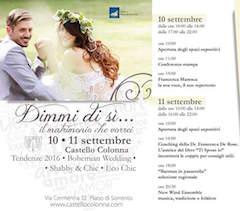 Al Castello Colonna la fiera del wedding
