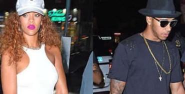 Rihanna e Lewis Hamilton, vacanza in Costiera