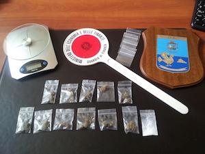 Spaccio di droga in penisola sorrentina: 4 misure cautelari e 9 minori denunciati