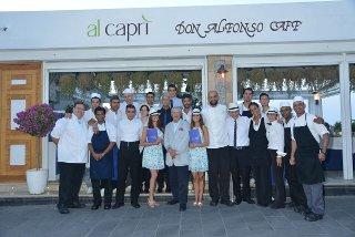 Al Caprì-Don Alfonso Cafè già inserito nella Guida de L'Espresso