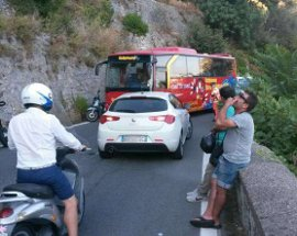 Anas: 5,6 milioni per messa in sicurezza costoni dell'Amalfitana