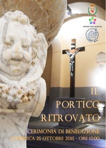 Domenica la benedizione del portico dell'Episcopio