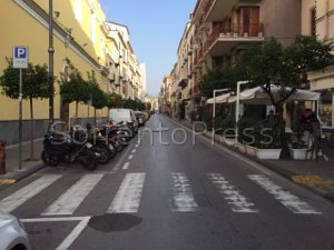 Da oggi scatta la ztl h24 sul corso Italia e via Correale riapre nei weekend