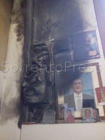 Incendio in una tabaccheria del corso Italia