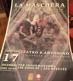 Spettacolo di beneficenza al Teatro Sant'Antonino
