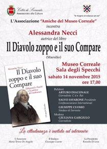 Al Museo Correale presentazione del libro di Alessandra Necci