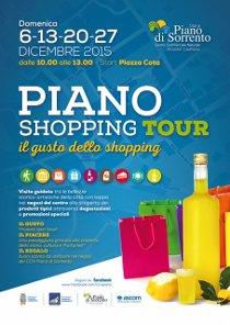 """Conto alla rovescia per il """"Piano shopping tour"""""""