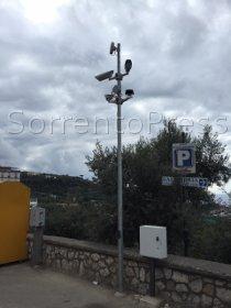 Più videosorveglianza a Sorrento, ok al progetto