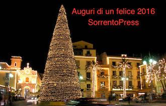 Gli auguri di SorrentoPress per il 2016