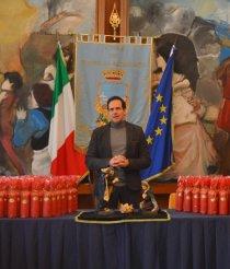 Gli auguri del sindaco Ruggiero