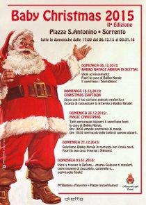 Domani prima tappa di Babbo Natale a Sorrento