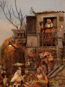 Aprono la mostra dei presepi ed il Villaggio di Babbo Natale di Villa Fiorentino – video –