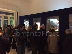 Eccezionale esordio della mostra di presepi a Villa Fiorentino