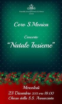 """Il Coro di Santa Monica presenta """"Natale Insieme"""""""