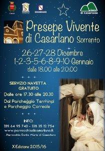 Quasi pronto il presepe di Casarlano: Date e orari