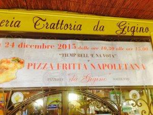 Domani mattina pizze fritte gratis alla trattoria Da Gigino