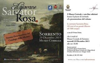 Presentazione del catalogo della mostra su Salvator Rosa