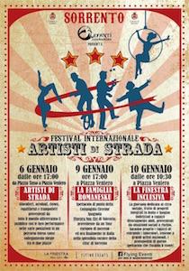 Nel weekend di Sorrento il Festival degli Artisti di Strada