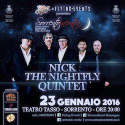 Al Teatro Tasso il concerto di Nick the Nightfly