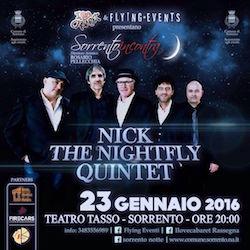 Al Teatro Tasso il concerto di Nick the Nightfly