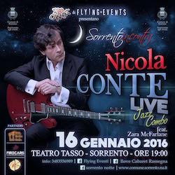 Questa sera al Teatro Tasso concerto di Nicola Conte