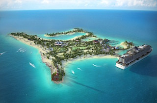 Svelati i segreti dell'isola della Msc nei Caraibi