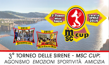La Msc main sponsor del Torneo delle Sirene