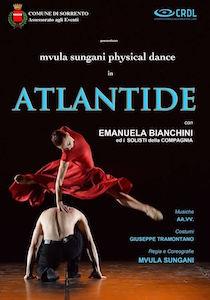 """Domani sera al Teatro Tasso lo spettacolo di danza """"Atlantide"""""""
