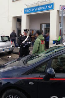 In auto con arnesi da scasso, denunciati 4 stranieri a Vico Equense