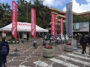 Le nuove moto Honda in anteprima a Sorrento