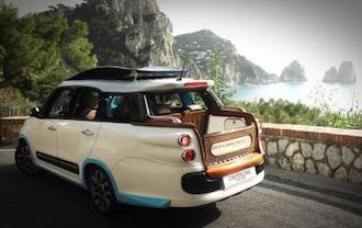 A Capri arriva Tiberio, l'evoluzione del taxi isolano