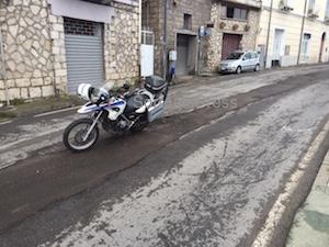 Il disastro delle strade di Sorrento