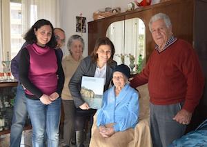 A Piano di Sorrento festa per le 100 candeline di Anna Esposito
