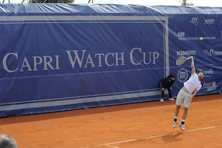 Tutto pronto per la Capri Watch Cup di tennis