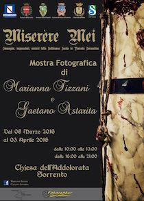 Alla chiesa dell'Addolorata mostra di foto sui riti pasquali in penisola