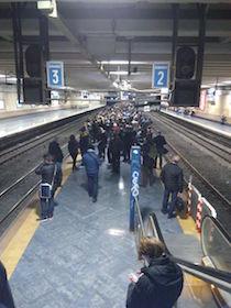 Oggi sciopero della Circum, disagi per i viaggiatori