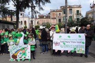 I bambini di Sorrento sfilano per San Patrizio – fotogallery –